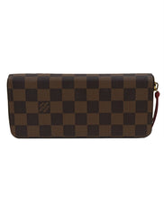 DAMIER EBENE CANVAS ZIPPY WALLET