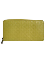 SHINY CALF DAMIER FACETTE ZIPPY WALLET