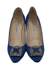 EMBELLISHED SATIN HANGISI PUMPS