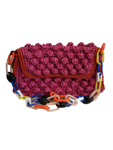 RAFFIA SHOULDER BAG
