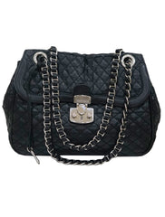 QUILTED NYLON SHOULDER BAG