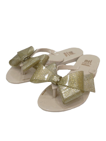 HARMONIC BOW THONG SANDALS