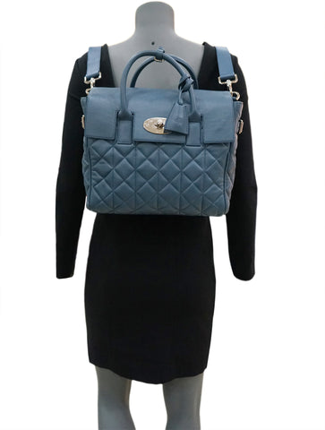 CARA DELEVIGNE QUILTED LEATHER BACKPACK