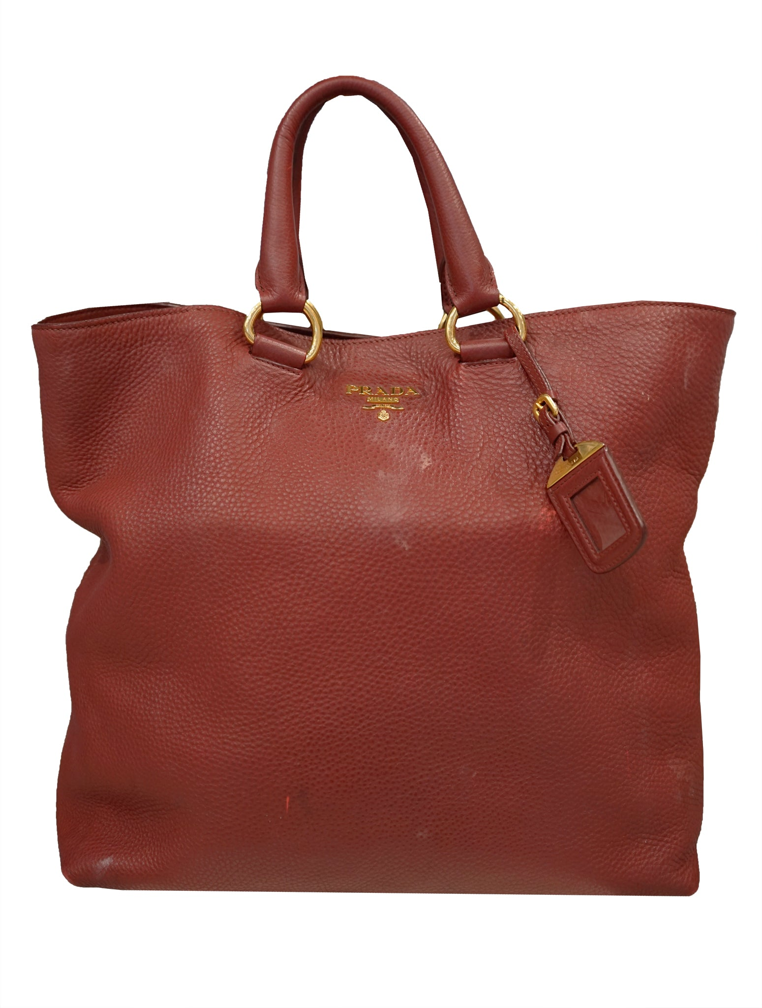 5784120c255d ... VITELLO DAINO LEATHER SHOPPER TOTE. Prada Bag, Prada Milano, Hobo Bag,  Ladies Luxury Bag