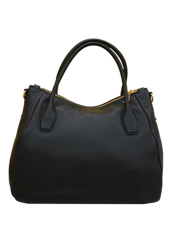 VITELLO DAINO LEATHER MANICI HOBO BAG