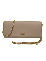 SAFFIANO WRIST CLUTCH BAG