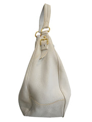 POMICE VITELLO DAINO LEATHER HOBO BAG