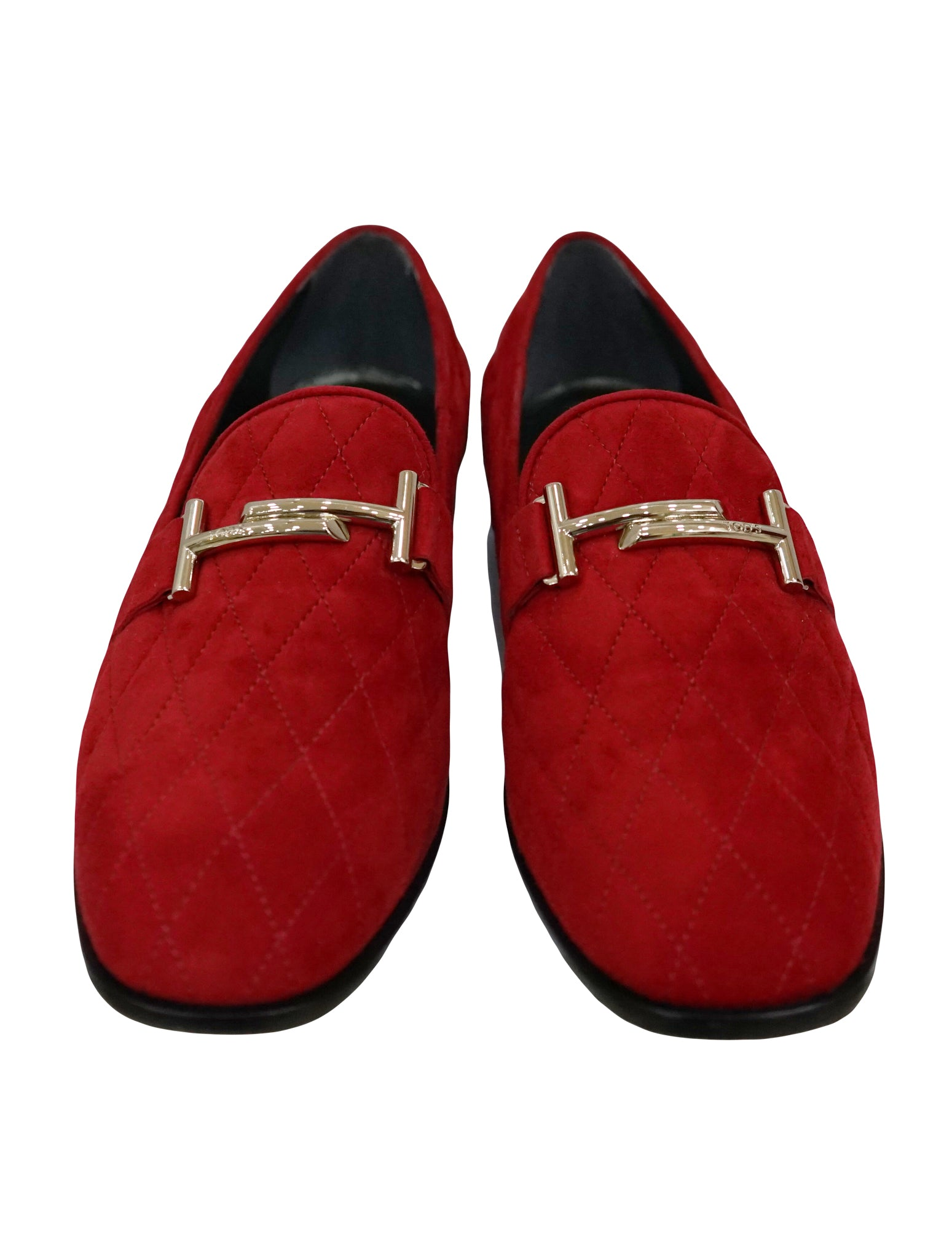 QUILTED DOUBLE T LOAFER SHOES