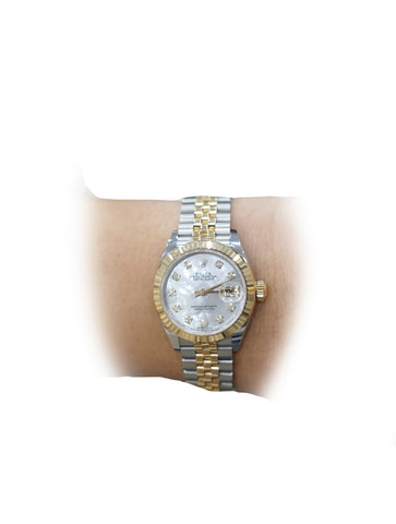 LADY DATEJUST OYSTERSTEEL YELLOW GOLD