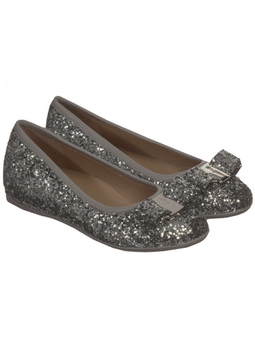 GIRLS GLITTERED BALLERINA SHOES