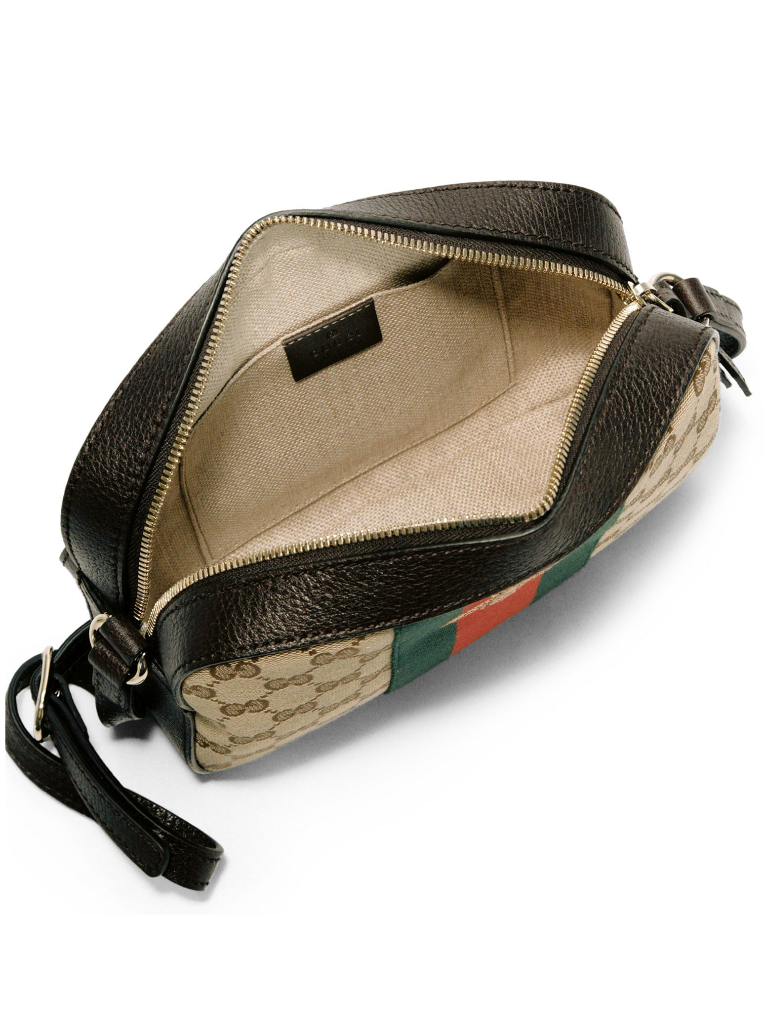 CROSSBODY GG CANVAS BEE HANDBAG