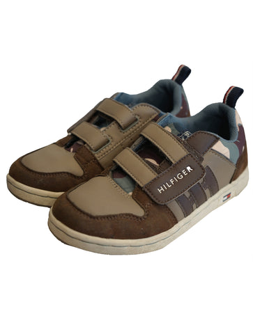 BOY VELCRO FASTENED SHOES - kidsstyleforless