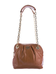 DENA MINI BROWN CHAIN BAG