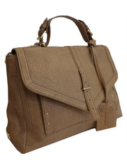 BROWN MEDIUM SATCHEL TB BAG - kidsstyleforless
