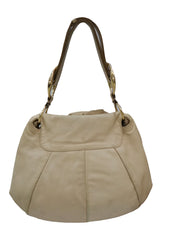 NADJA ROSE PETAL LEATHER HOBO BAG