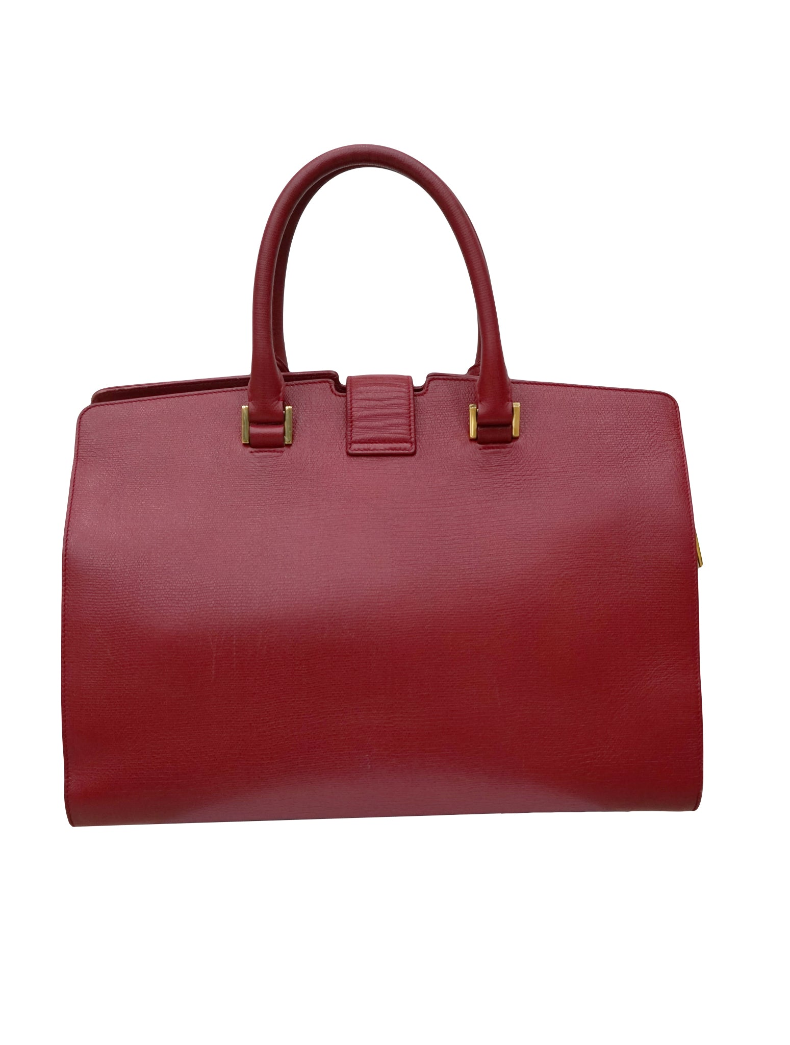 CLASSIC Y CABAS TEXTURED LEATHER BAG