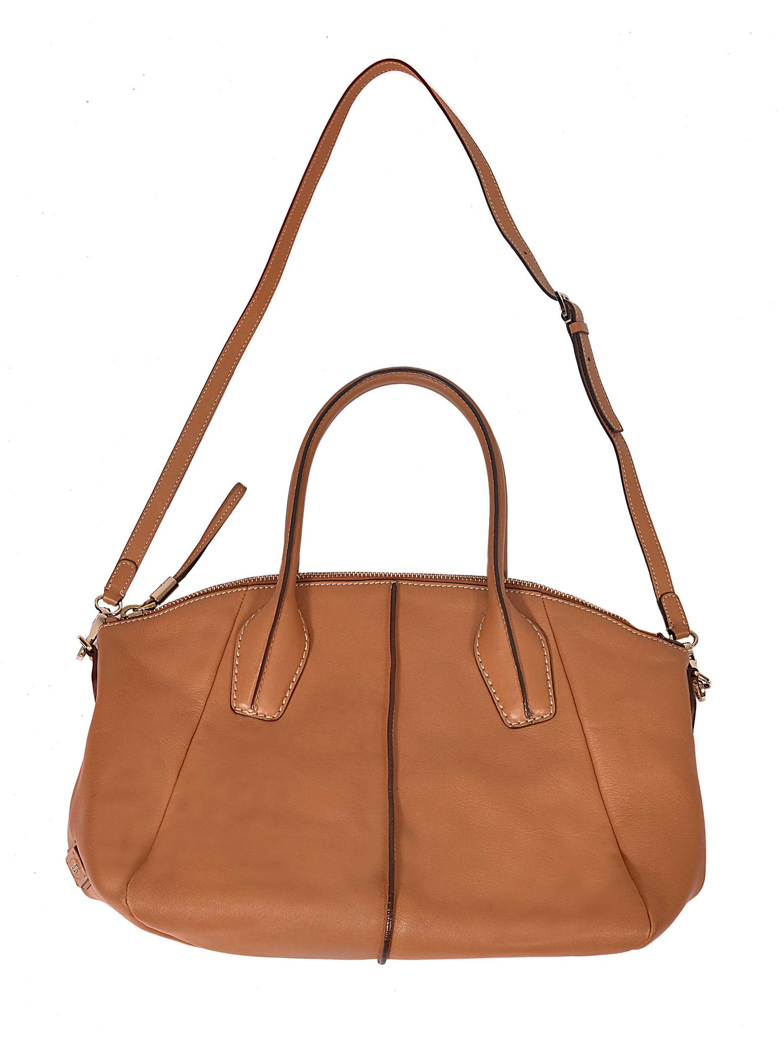 D-STYLING TOTE LEATHER HANDY BAG