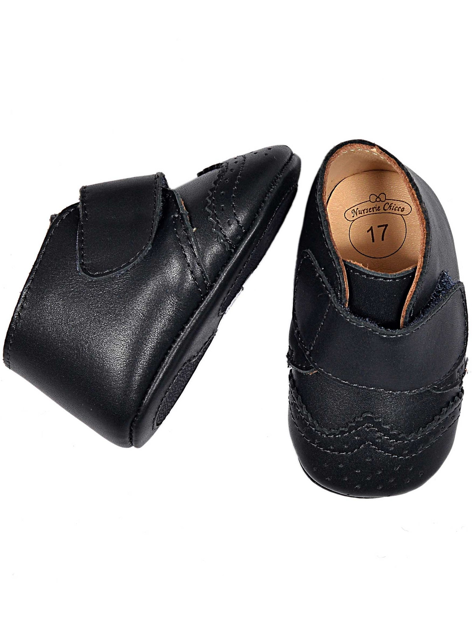 LEATHER SOFT SOLE SHOES