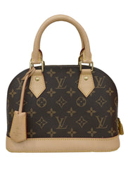 MONOGRAM CANVAS  ALMA BB BAG
