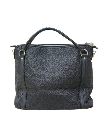 BLACK MONOGRAM IXIA ANTHEIA PM BAG