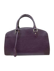 PURPLE EPI LEATHER PONT NEUF PM BAG