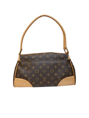 MONOGRAM CANVAS BERVERLY MM BAG