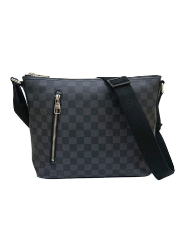 DAMIER GRAPHITE CANVAS MICK PM MESSENGER