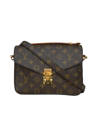 MONOGRAM CANVAS  POCHETTE METIS SHOULDER BAG