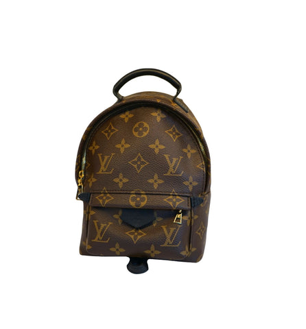 MONOGRAM CANVAS PALM SPRING MINI BACKPACK