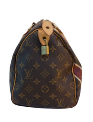 MONOGRAM CANVAS PERSONALIZED SPEEDY 30