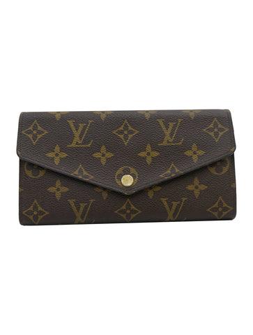 MONOGRAM CANVAS SARAH WALLET