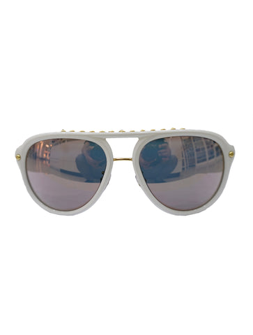 WHITE Z2358W RG1127 SUNGLASSES