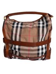 CHECK CANVAS  HOBO BAG - kidsstyleforless