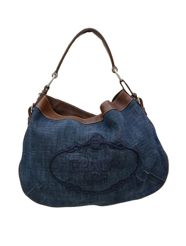 TRIM LOGO JACQUARD HOBO BAG