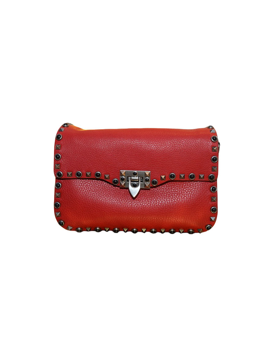 GUITAR ROLLING ROCKSTUD SHOULDER BAG