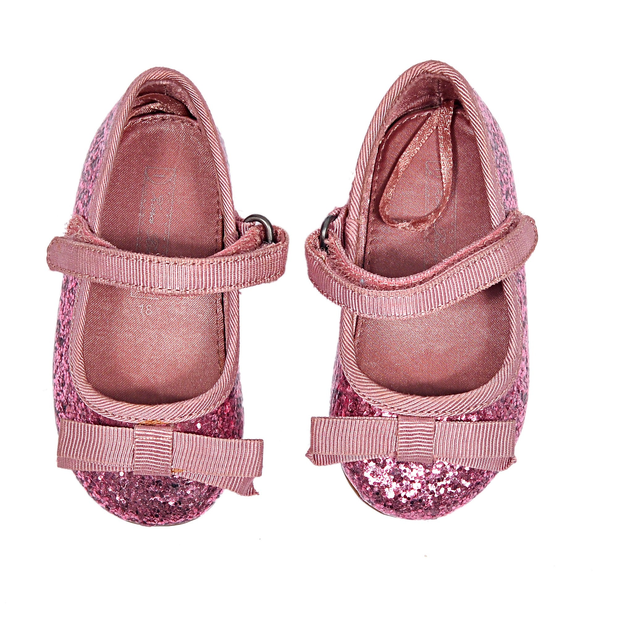 GLITTER BALERINA SHOES