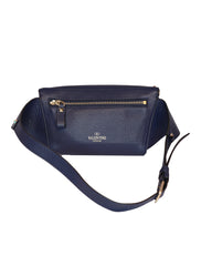 NAVY BLUE ROCKSTUD BELT BAG