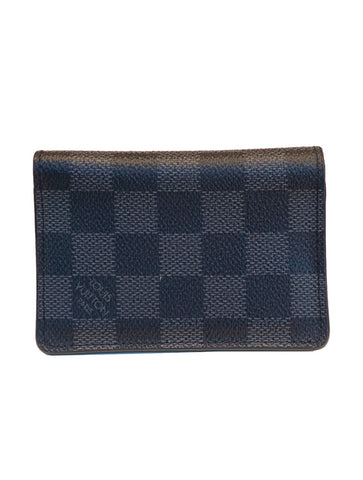 DAMIER GRAPHITE CANVAS POCKET ORGANIZER