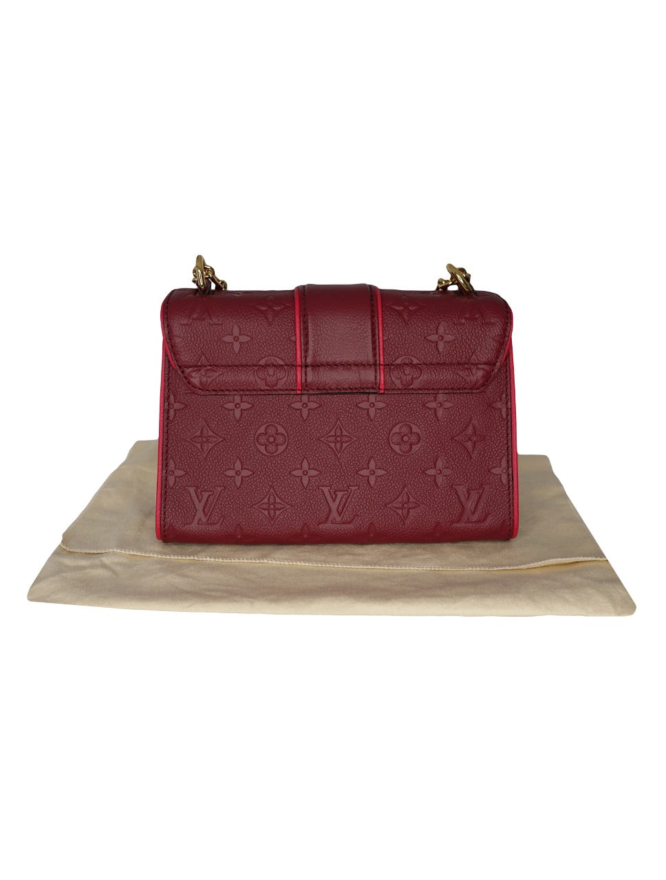 MONOGRAM EMPREINTE LEATHER SAINT SULPICE