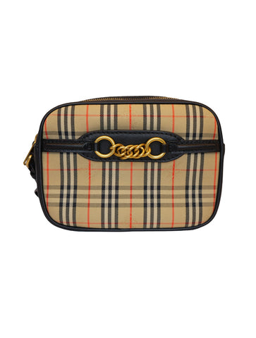 THE 1983 CHECK LINK BUM BAG