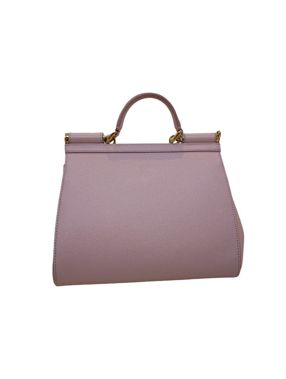LIGHT PINK DAUPHINE LEATHER SICILY BAG