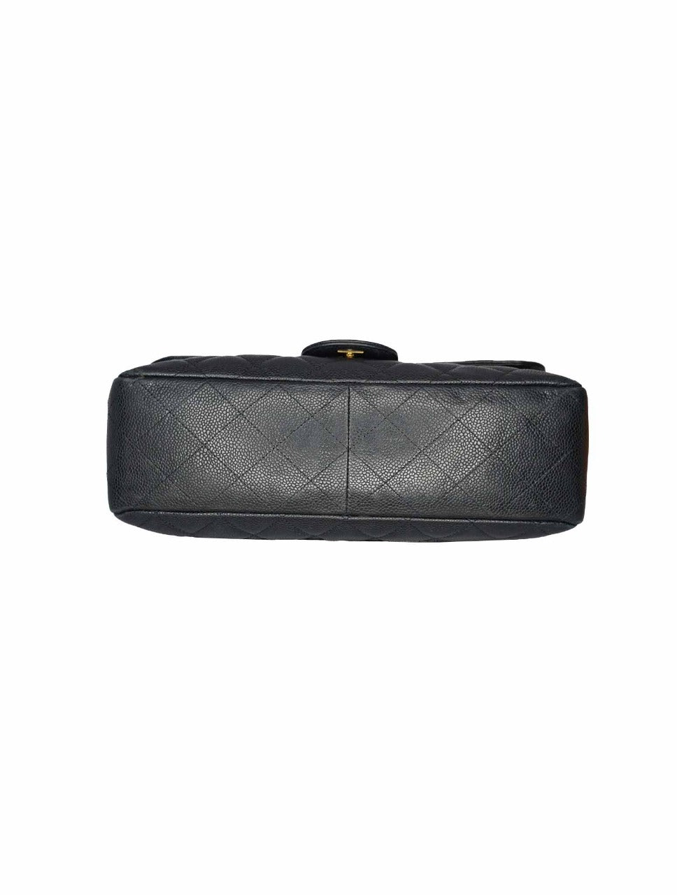 CLASSIC SINGLE FLAP JUMBO CAVIAR LEATHER
