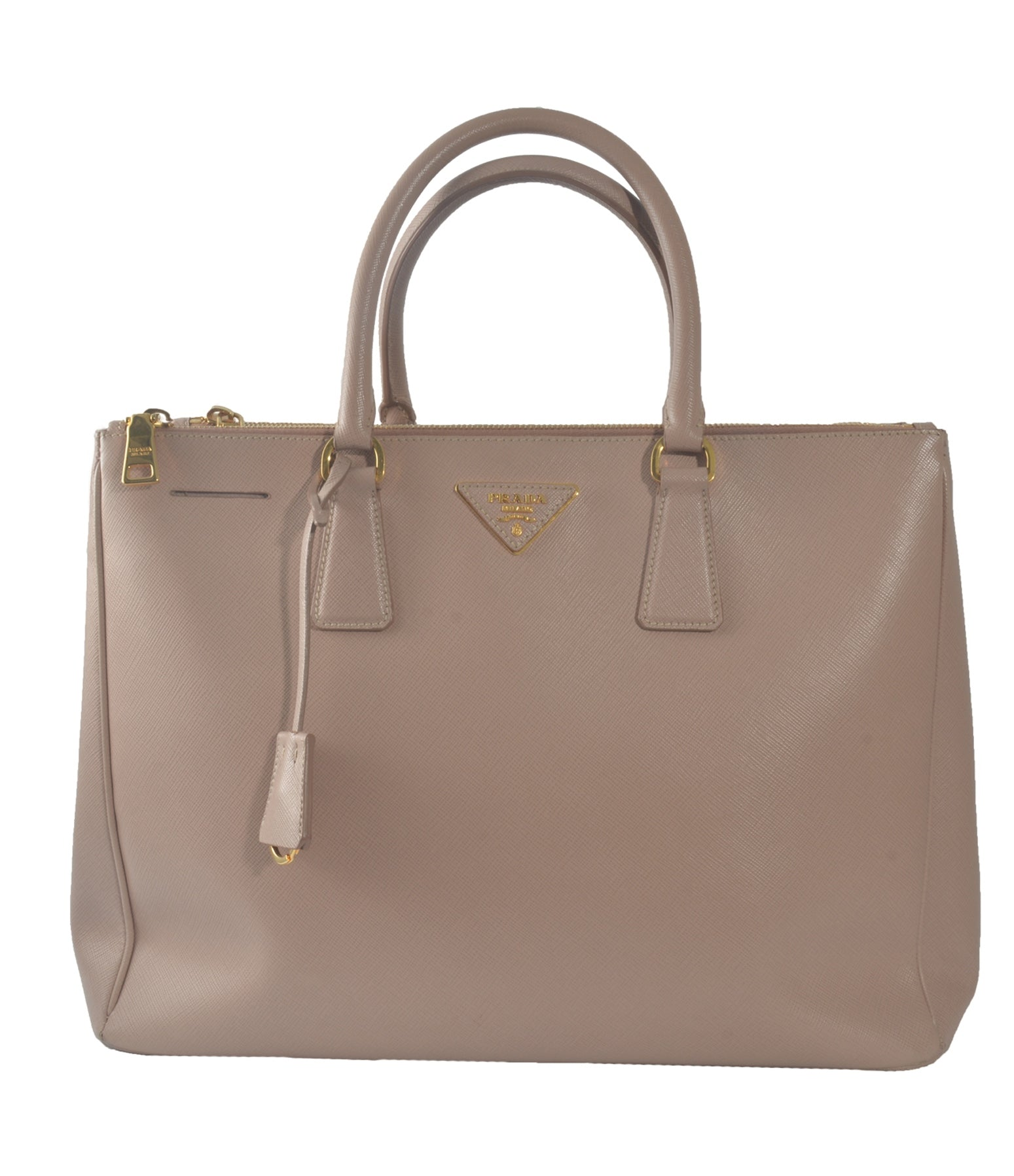 SAFFIANO LUX LEATHER LARGE DOUBLE ZIP