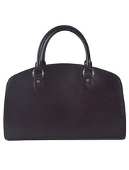 NOIR EPI LEATHER PONT NEUF PM BAG