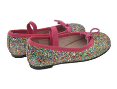 GLITTERED BALLERINA SHOES