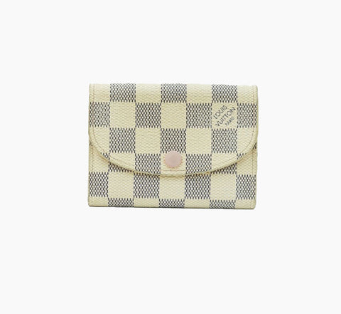 DAMIER AZUR CANVAS ROSALIE COIN PURSE