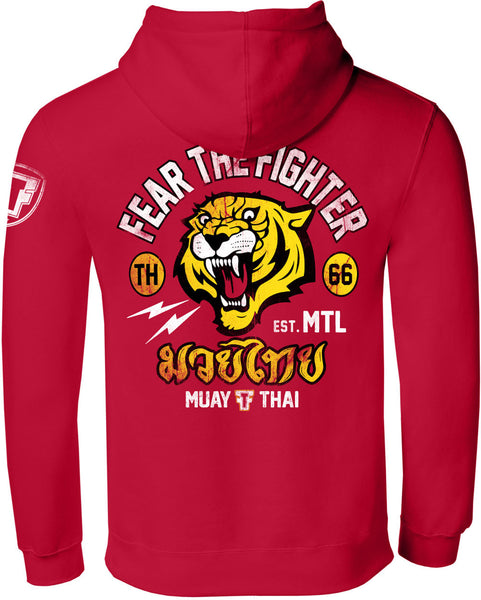 CL Muay Thai ZipUp Hoodie - Fear The Fighter