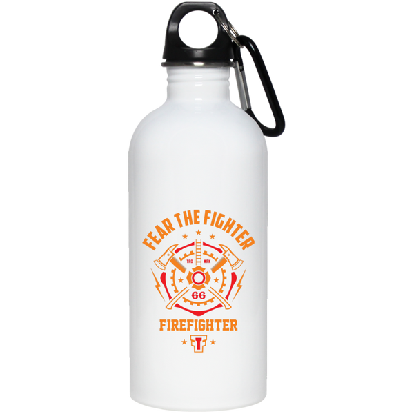 FTF Fire Fighter Stainless Steel Water Bottle 20 oz - Fear The Fighter