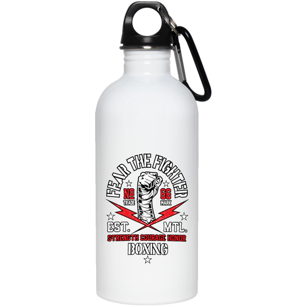 FTF Boxing Stainless Steel Water Bottle 20 oz - Fear The Fighter