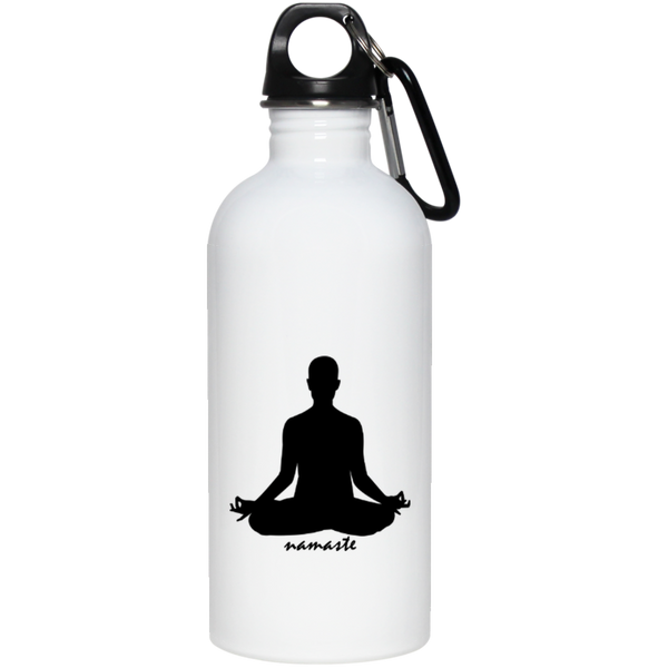 FTF Yoga Stainless Steel Water Bottle 20 oz - Fear The Fighter